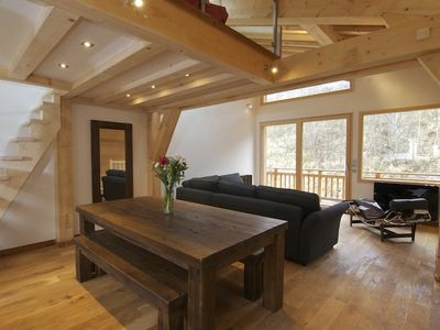 Photo for Contemporary 3 bedroom luxury chalet in Chamonix with sauna and cinema room