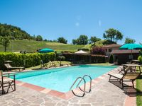 Ideal property for two families/ one large group. Beautiful pool and views. Very clean and welcoming