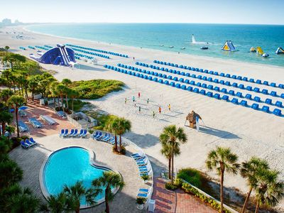 Photo for Trade Winds Resort: Gulf Front 1 Bedroom