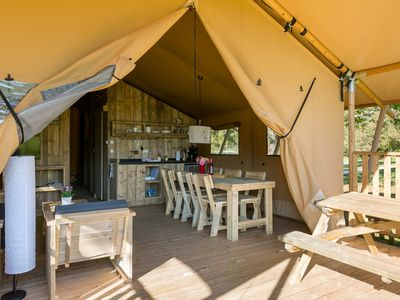 Photo for Spaciously laid out holiday park at Gourdon in the varied Dordogne