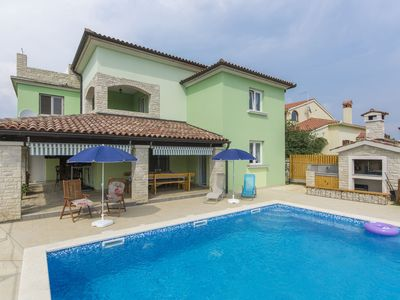 Photo for Holiday home Melanie near Pula with two large apartments and private pool