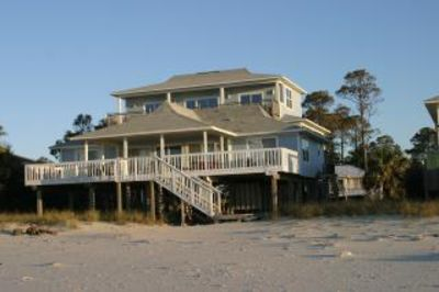 Photo for Gulf Front! Beautiful! Family friendly, large home with lots of deck space!