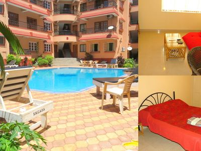Photo for 40) Serviced Apartment Calangute/Baga Sleeps 3