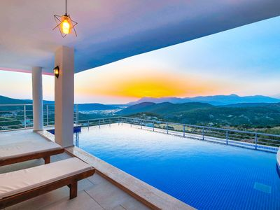 Photo for Brand New Stylish 5 Bedroom Villa with 2 Secluded Pools and Panoramic Views