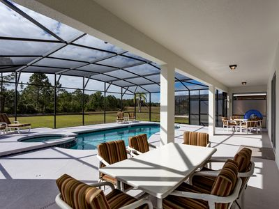 Photo for #291 Stunning large 5 bed pool and spa home overlking water near to attractions