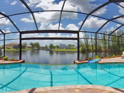 Photo for Luxury home with stunning waterview, boat dock & sundeck!