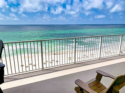 Photo for Free Beach Service! Newly Remodeled for 2020, Low 8th Floor, Walk-In Shower!