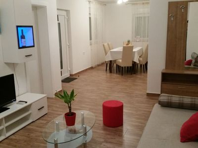 Photo for Modern comfortable apartment 5 min from beach with wifi and airco