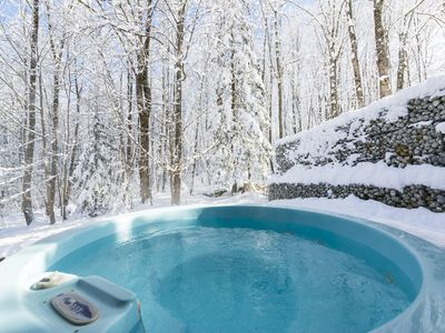 Photo for UNIQUE & BEAUTIFUL SELF CATERING CHALET - LOG FIRES - HOT TUB - Chamonix Valley