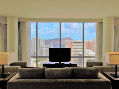 Photo for 32th High Floor w/Spectacular Mountain & Ocean View! Book Now at Best Rate!