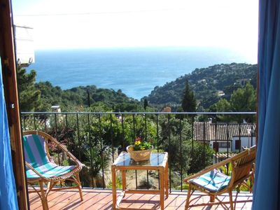 Photo for Town house in a peaceful location with fantastic sea view