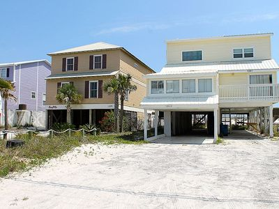 Photo for ***DISCOUNTED TO FILL JUNE WEEKS, PET FRIENDLY, DIRECT GULF FRONT DUPLEX, NEWLY RENOVATED, GREAT LOCATION - BEACHBALL PROPERTIES