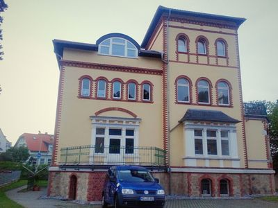 Photo for Modern holiday home in exclusive old-town villa in Harz, with garden and grill