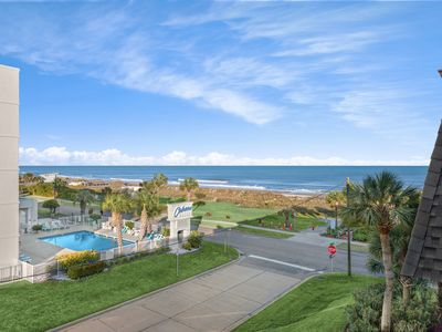 Photo for Ocean Forest Villas E306: Fully Renovated Oceanfront Two Bedroom Condo- Sleeps 6!
