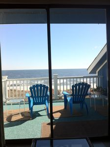 View Out to Sea from Living Room