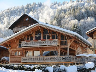 Photo for Large Luxury Catered Or Self Catered Ski Chalet In Central Morzine