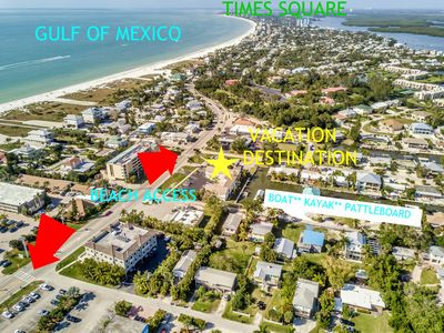 Photo for AMAZING Paradise Getaway Steps to the sand on Fort Myers Beach