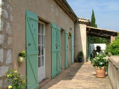 Photo for Character villa in St Paul de Vence