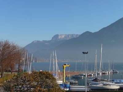 Photo for RARE VIEW ON LAKE appartment *** Annecy In 2 steps lake, beach, old town + garage + wifi