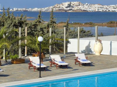 Photo for SEA VIEW DIAMOND AMAZING VILLA, NAXOS AEGEAN ISLAND, 6 Bedrooms, 5 Bathrooms Up to 14 Guests