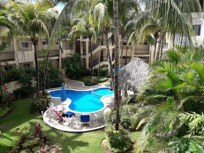 Photo for A Hidden Paradise --- 2 BR Condo With Pool View ~ Close To Everything