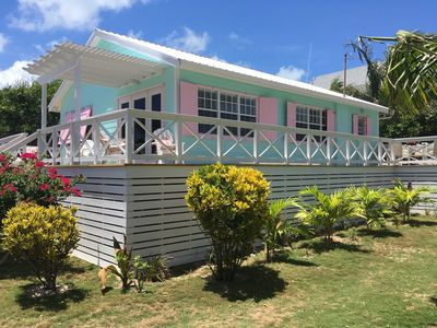Photo for Beautiful Newly Renovated Beach House - 2 bed 2 bath - Steps from the beach