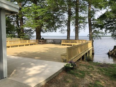 1500 sq. ft Deck with a 36' x 9' Boat Slip