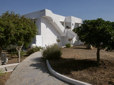 Photo for Agrikia Apartments No1-with garden at 300m to beaches - Paros