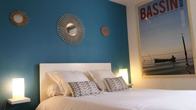 Photo for Holiday apartment La Séraphine in the heart of the Arcachon Basin