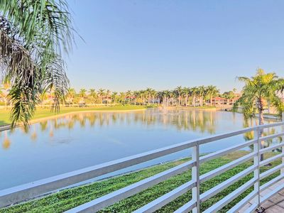 Photo for Stunning Water Views -  Golf course view - Heated Pool and spa-near Don Cesar