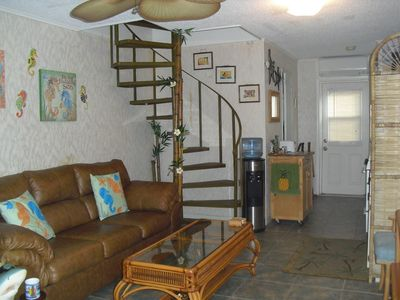 LIVING ROOM - Stairwell