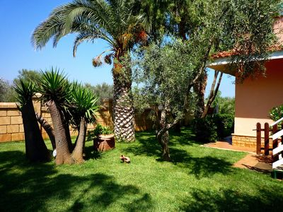 Photo for Cozy apartment, panoramic terrace,sea view, garden,10 minutes to Palermo