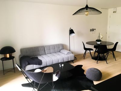 Photo for New Modern 2BD / 1 BA with Terrace & Elevator
