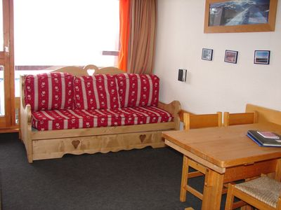 Photo for LES ARCS 1800-Résidence Pierra Menta 5 BEDS APARTMENT WITH SOUTH FACING balcony-