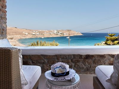 Photo for A VERY GOOD PLACE TO BE. PRIVATE 5BR POOL VILLA MYKONOS