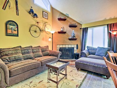 Photo for NEW! Cozy Wintergreen Resort Home - Walk to Lifts!