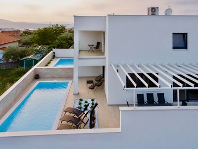 Photo for New: Modern 3 bedroom villa with private pool near the beach