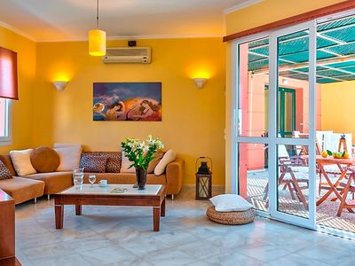 Photo for Vacation home Daphni 2 in Platanias - 6 persons, 3 bedrooms