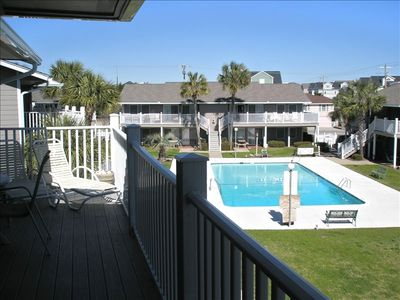 Photo for 2nd Row/Ocean View - 3 BR/2 BA with Pool in Surfside Beach