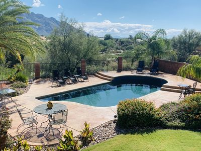 Photo for Awesome Mountain Views, Great for Groups/Fams/Golf, Private Resort-Pool/Spa