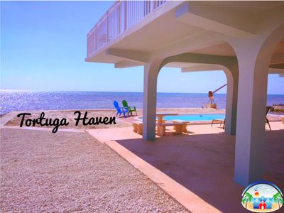 Photo for Tortuga Haven 🏝️Luxury Ocean Front Retreat with Rooftop Observatory Deck!!