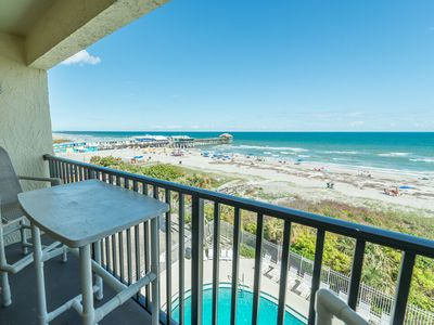 Photo for Penthouse - Ocean Front - Corner Unit facing the Pier - Fully Renovated