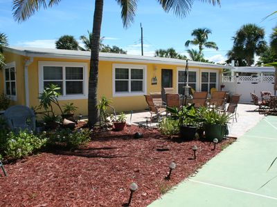 Photo for Hibiscus Hideaway - Fort Myers Beach Pool Home Right on Estero Blvd.