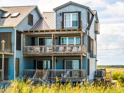 Photo for North Pointe: 4 BR / 3.5 BA duplex in North  Topsail Beach, Sleeps 8