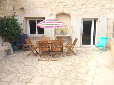 Photo for Village house between vineyards and Occitan countryside