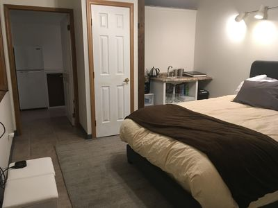 Photo for Cozy Studio w/Kitchenette Walking Distance To Downtown Views of Pikes Peak!