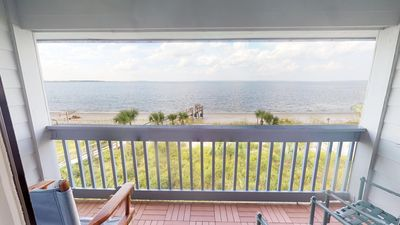 Photo for Savannah Beach & Racquet - Unit A318 - Panoramic Water Views - Smoking Permitted