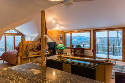 Amazing views from every window in the house!