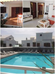 Photo for Lovely apartment in the nicest place of Lanzarote, seaside, Wifi, Apple TV