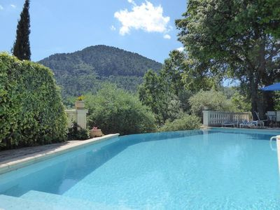 Photo for Idyllic villa just outside the picturesque village of Claviers